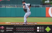 Barons Begin 10 Day Trip with 6-2 Win
