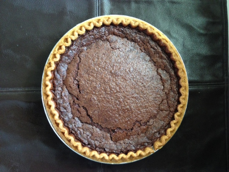 Easier Than It Tastes Southern Classic  - Chocolate Chess Pie