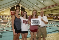 Big season for Crimson Tide swimming and diving team recognized at ceremony (via Crimson Magazine)