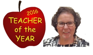 Local Teacher Named 2016's Teacher of the Year