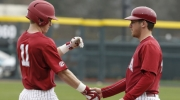 Crimson Tide baseball team strikes late to defeat Brown 2-0